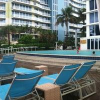Photo taken at Pool @ Sheraton Ft. Lauderdale by Sarah-Nicole R. on 6/24/2012