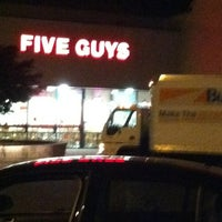 Photo taken at Five Guys by Lia P. on 6/11/2012