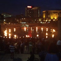 Photo taken at WaterFire Providence - Waterplace Park by Buddy R. on 8/19/2012