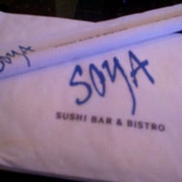 Photo taken at Soya Sushi by Nile G. on 12/11/2011