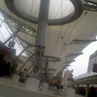 Photo taken at Rosa Parks Transit Center by Nkosi F. @. on 12/20/2011