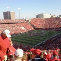 Photo taken at Memorial Stadium by Sondra G. on 9/10/2011