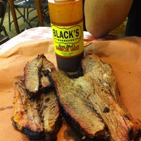 Photo taken at Black's Barbecue by Sarina A. on 4/18/2012