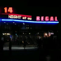 Photo taken at Regal Cinemas Union Square 14 by Adam P. on 10/18/2011