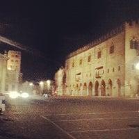 Photo taken at Piazza Sordello by Raimondo B. on 3/16/2012