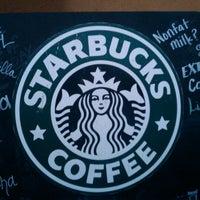 Photo taken at Starbucks by Rachel B. on 1/27/2012