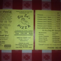 Photo taken at Big Ed's Pizza by Jeremy H. on 12/21/2011