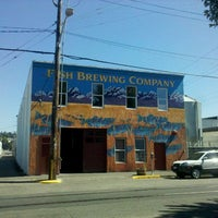 Photo taken at Fish Tale Brew Pub by Chris S. on 8/27/2011