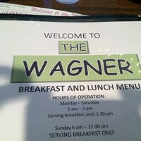Photo taken at Wagner Restaurant by Al W. on 8/11/2012