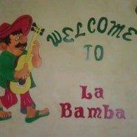 Photo taken at La Bamba Mexican and Spanish Restaurant by George C. on 10/18/2011