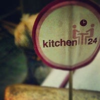 Photo taken at kitchen24 by Vini D. on 7/22/2012
