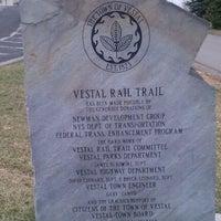 Photo taken at Vestal Rail Trail by Jen L. on 2/11/2012