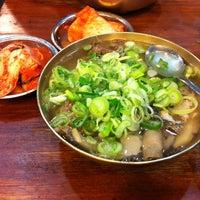 Photo taken at Hadongkwan by Han L. on 4/3/2012