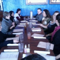 Photo taken at Ammos Authentic Greek Cuisine by Titus on 1/16/2012