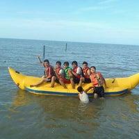 Photo taken at Pantai Gudang Garam by danil t. on 1/31/2012