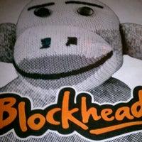 Photo taken at Blockheads Burritos by Michelle J. on 1/13/2012