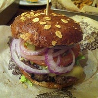 Photo taken at Bareburger by Laura O. on 11/12/2011