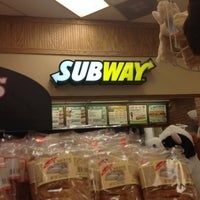 Photo taken at Subway by Bryan on 7/8/2012