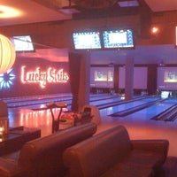Photo taken at Lucky Strike New York by Tim M. on 9/22/2011