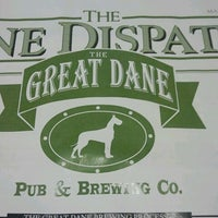 Photo taken at Great Dane Pub & Brewing Co by Chuck H. on 8/14/2012