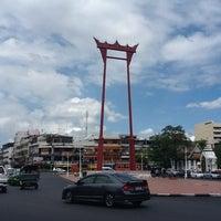 Photo taken at Giant Swing by U-tai on 7/14/2012