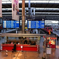 Photo taken at Munich Main Railway Station by Stephan T. on 4/16/2012