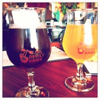Photo taken at Double Mountain Brewery & Taproom by Mark K. on 1/8/2012