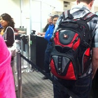 Photo taken at TSA Security by Elaine R. on 10/29/2011