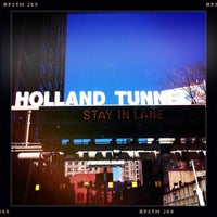 Photo taken at Holland Tunnel by Stacey M. on 3/27/2011