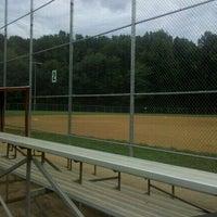 Photo taken at Baseball Field # 2 - Nottoway Park by Jennifer S. on 9/18/2011