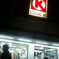 Photo taken at Circle K Tamsis by Tatank H. on 2/23/2012