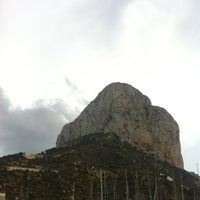 Photo taken at Puerto Ifach by Esther T. on 8/11/2012