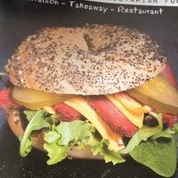 Photo taken at Bagel & Co by Deborah S. on 4/30/2012