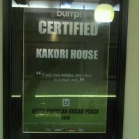 Photo taken at Kakori House by Saad A. on 7/17/2012