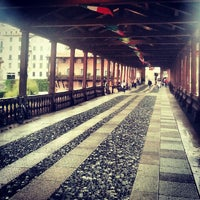 Photo taken at Ponte degli Alpini by Nevena M. on 8/31/2012