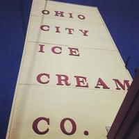 Photo taken at Ohio City Ice Cream by Unmiserable C. on 7/25/2012