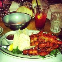 Photo taken at Jake's Famous Crawfish by Jared K. on 9/1/2012