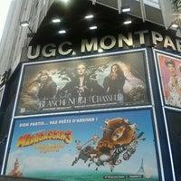 Photo taken at UGC Montparnasse by Vicent on 6/13/2012