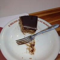 Photo taken at O Melhor Bolo de Chocolate do Mundo by Wilson C. on 3/10/2012