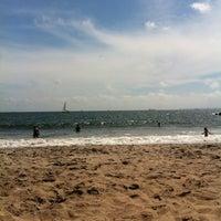 Photo taken at Ocean Parkway Beach by Aghasi on 8/26/2012