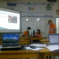 Photo taken at Room 4 Senakin Training Center by Fransisca M. on 5/7/2012