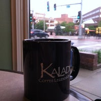 Photo taken at Kaladi's Coffee Legend & Bistro by Ben H. on 5/24/2012