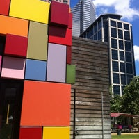 Photo taken at Discovery Green by Hilary B. on 5/27/2012