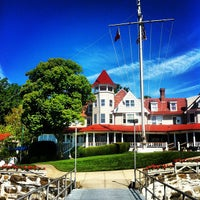 Photo taken at Larchmont Yacht Club by Ryan B. on 6/7/2012