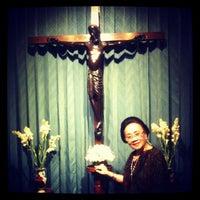 Photo taken at Gereja St. Ignatius Loyola by Cice on 4/27/2012