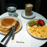 Photo taken at Qantas Business Lounge by Robert A. on 2/29/2012