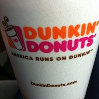 Photo taken at Dunkin' Donuts by Natalie on 5/8/2012
