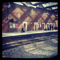 Photo taken at Stoke-on-Trent Railway Station (SOT) by Jeremiah G. on 4/5/2012