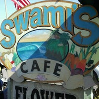Photo taken at Swamis Cafe by Victoria J. on 7/2/2011
