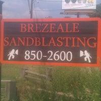 Photo taken at Brezeale Sandblasting by April B. on 8/31/2011